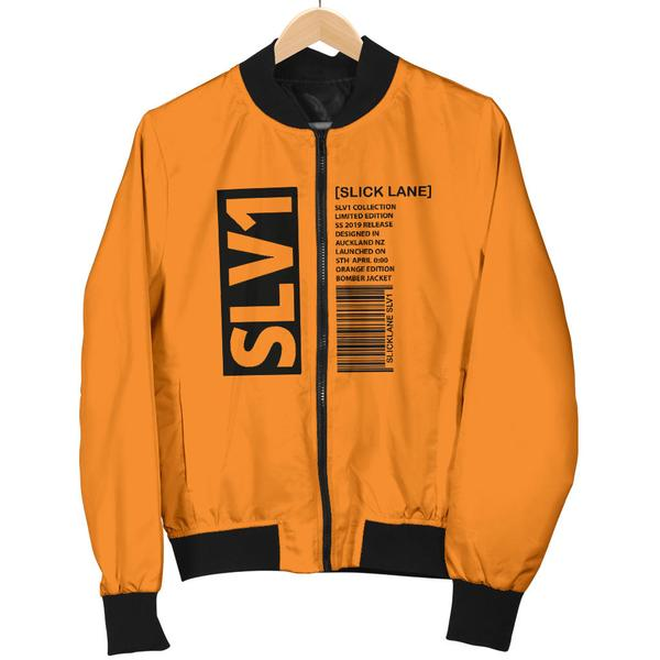 SLV1 Orange Bomber Jacket