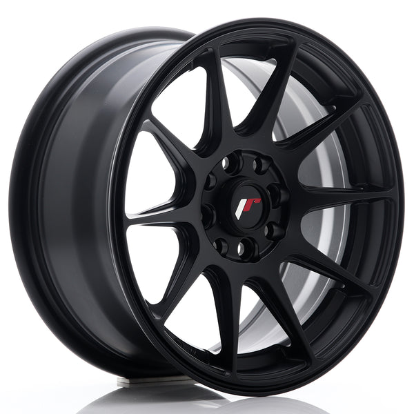 JR Wheels JR11 15x7 ET30 4x100/108 Flat Black