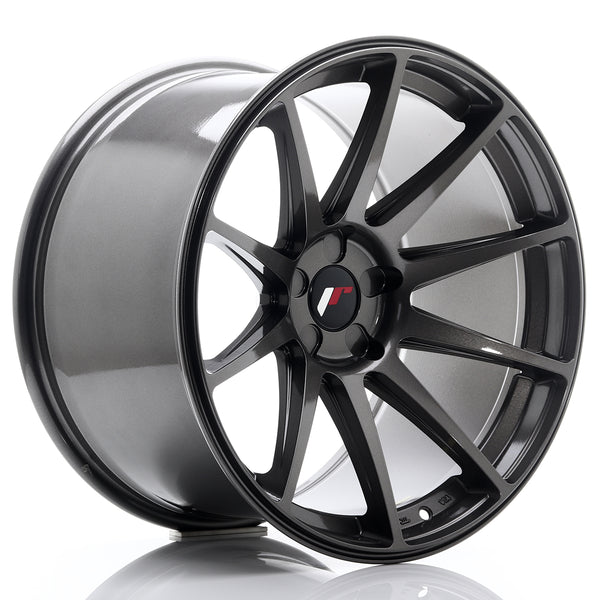 JR Wheels JR11 19x11 ET15-25 5H Blank Hyper Gray
