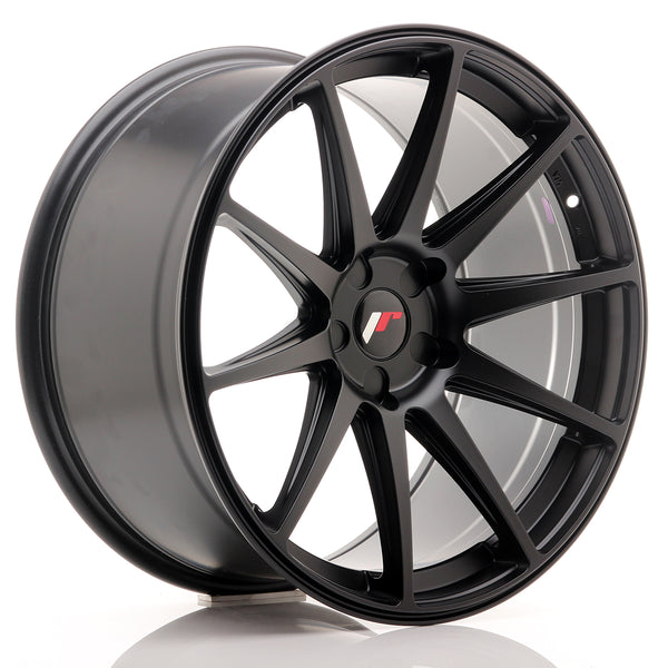 JR Wheels JR11 20x10 ET20-40 5H BLANK Matt Black