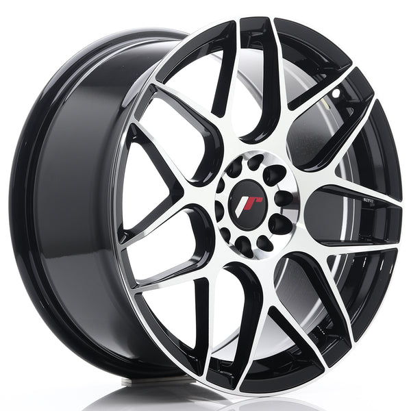 JR Wheels JR18 18x8,5 ET40 5x112/114 Gloss Black Machined Face
