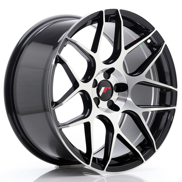 JR Wheels JR18 19x9,5 ET35 5H BLANK Gloss Black Machined Face