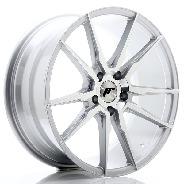 JR Wheels JR21 19x8,5 ET40 5x108 Silver Machined Face
