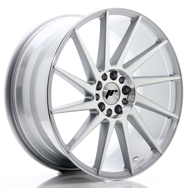 JR Wheels JR22 19x8,5 ET40 5x112/114 Silver Machined Face