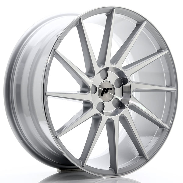 JR Wheels JR22 20x8,5 ET40 5H BLANK Silver Machined Face