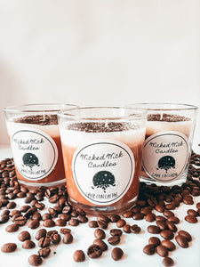 Cafe Con Leche Coffee Scented Candle