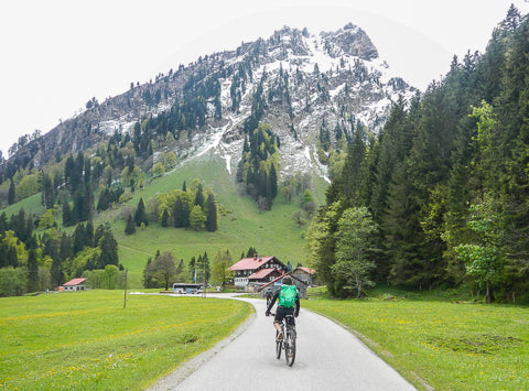 Cycling Tour Bavarian Alps Germany