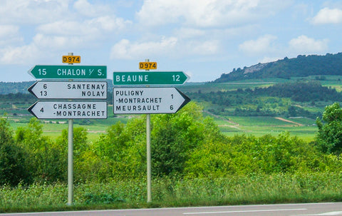 Burgundy signposts cycling ConnalKit