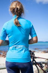 Cycling Jersey Womens ConnalKit HawaiianOcean