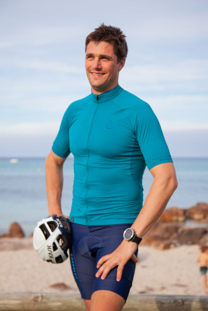 Cycling Jersey Mens ConnalKit OceanDepth