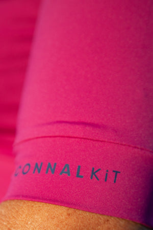 Cycling Jersey Womens ConnalKit Festival Fuchsia detail