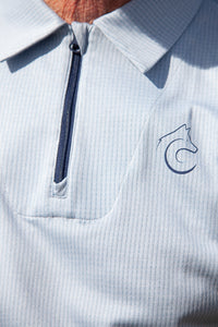 Connal Kit Mens Cycling Polo Shirt Collar detail