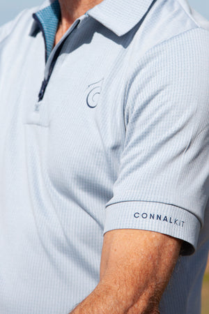 Connal Kit Mens Cycling Polo Shirt sleeve