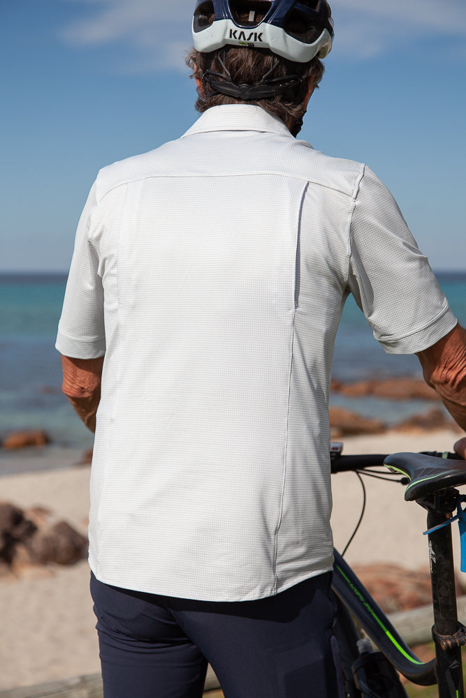 Connal Kit Mens Cycling Touring Shirt Casual style back
