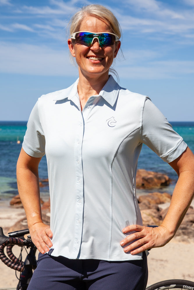Womens Cycling Touring Shirt Australia ConnalKit