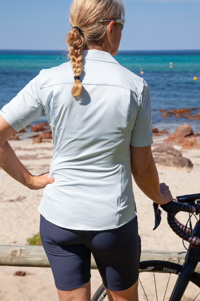 Womens Cycling Touring Shirt Back ConnalKit
