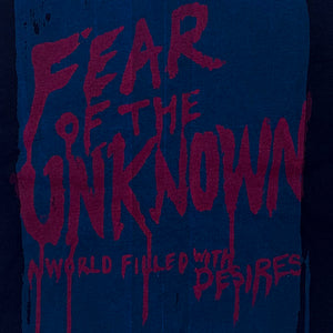Fear of the Unknown - Screenprint on T-shirt