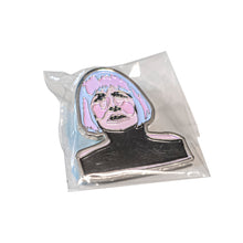 "Load image into Gallery viewer, ""Diane"" from Twin Peaks - Lapel Pin"