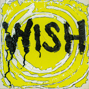 "Wish - 10"" x 10"" Oil and Acrylic Paint on Canvas"