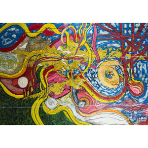 "Red Giant - 72"" x 48"" Mixed Media on Canvas"