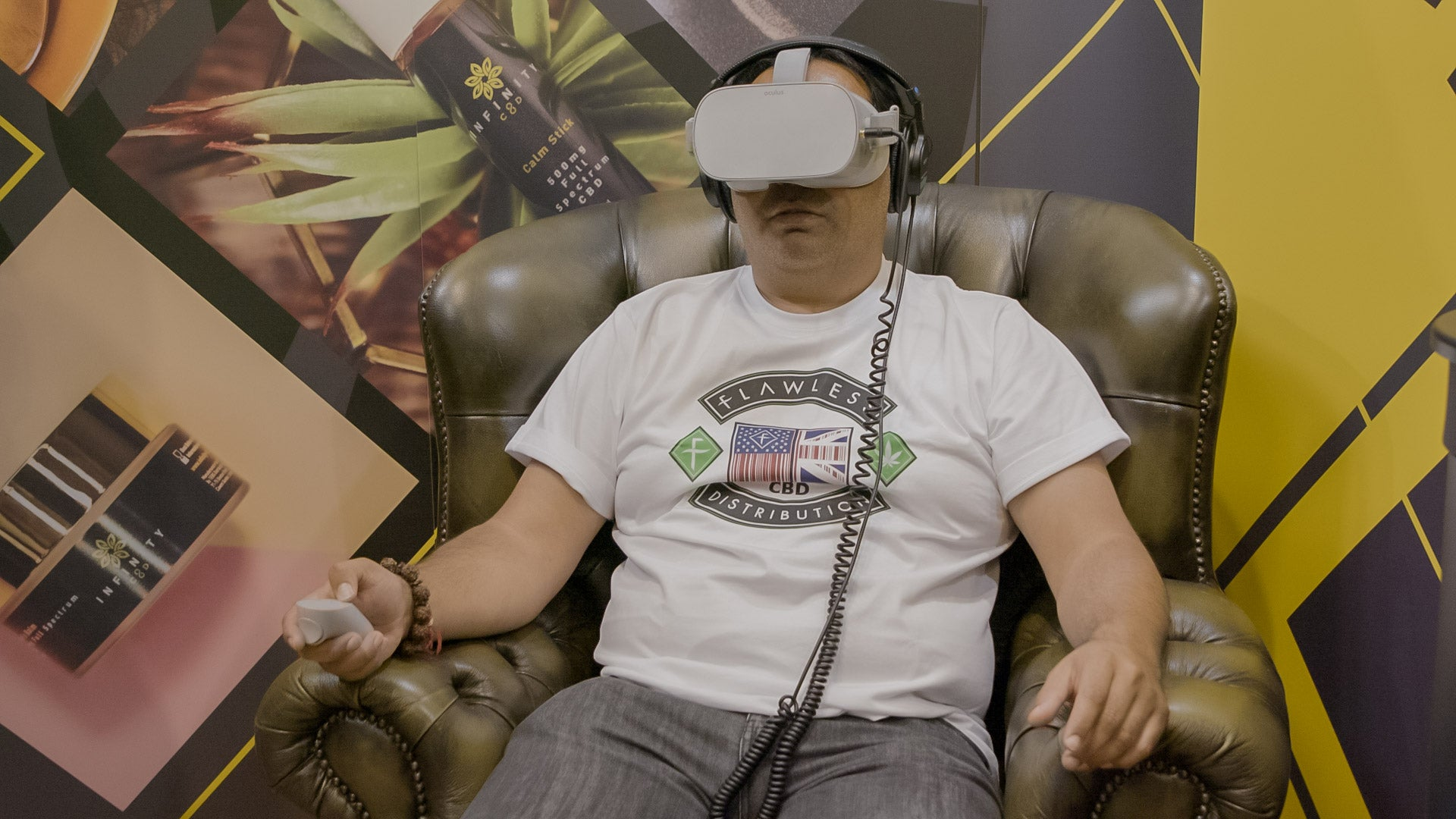 CBD VR Experience. CBD Guided Meditation VR