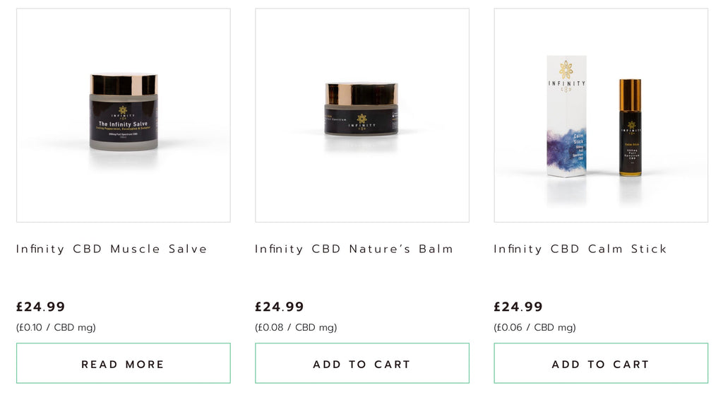 Infinity CBD Products