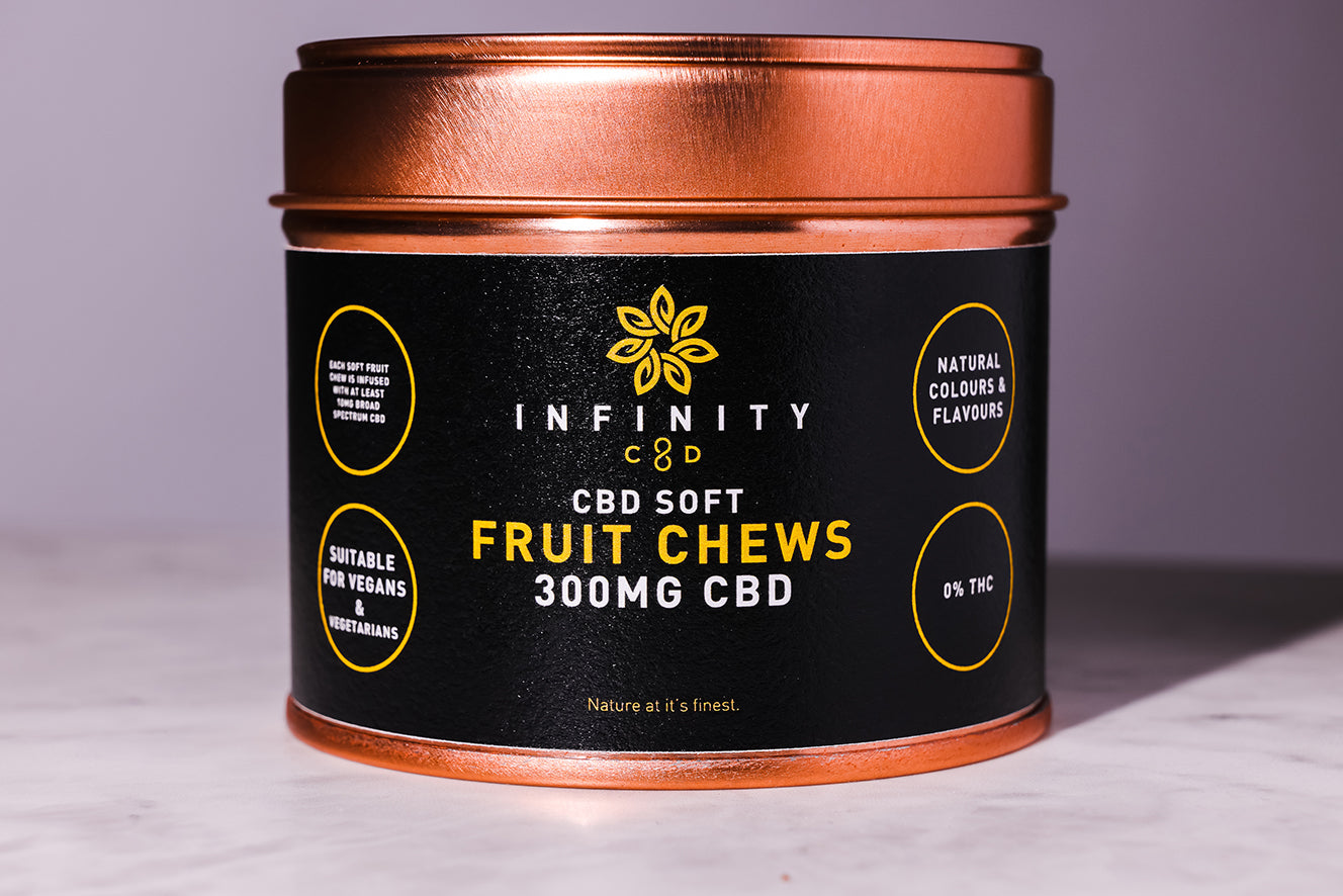 Vegan CBD Gummies Infinity CBD 300mg