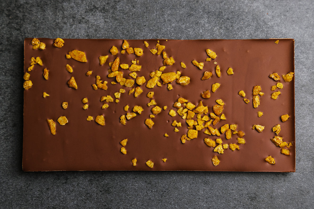 Orange and honeycomb CBD Chocolate