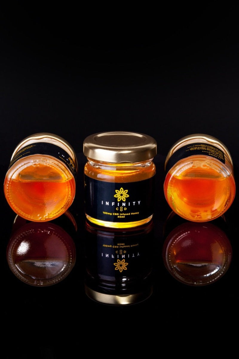 Infinity CBD Infused Honey from Wales, UK