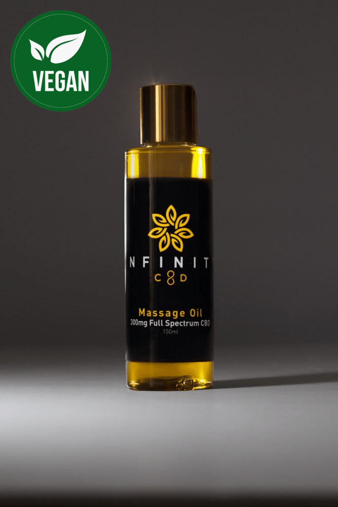 Infinity CBD Massage Oil Therapy Full Spectrum All Natural