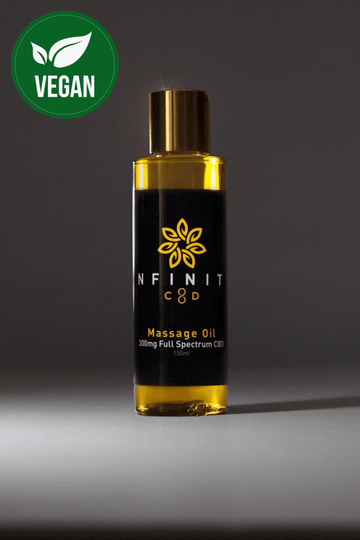 Infinity CBD Massage Therapy Full Spectrum All Natural