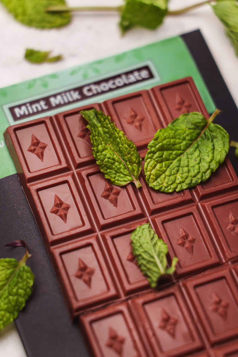 Vegan CBD Chocolate UK Mint