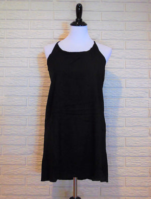 Black Back-Tie Dress