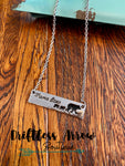 Mama Bear Necklace (2 cubs)