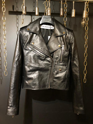 SURAYA LEATHER MOTO