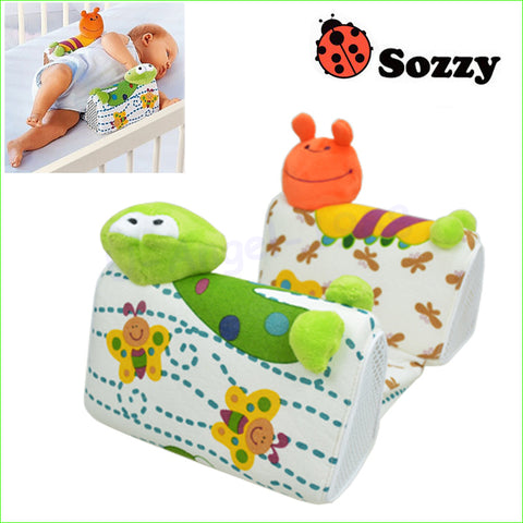 1pcs Comfortable Cotton Anti Roll Pillow Lovely Baby Toddler Safe Cartoon Sleep Head Positioner Anti-rollover