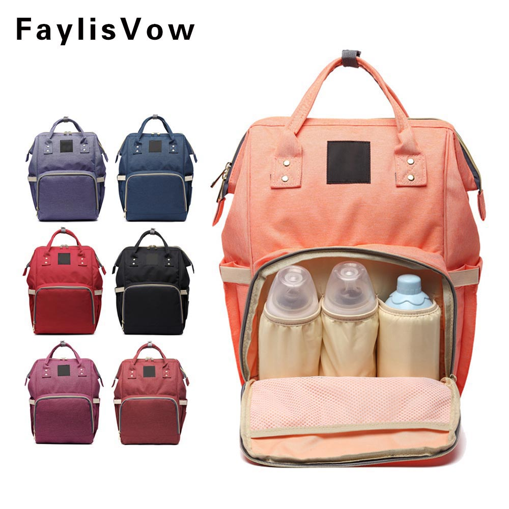 Large Capacity Maternal Diaper Bag Baby Stroller Carriage Bags Mummy Nursing Care Organizer Backpack Travel Handbag Luiertassen