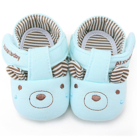 1Pair Baby Kids Toddler Infant Soft Comfortable Walkers Boys Girls Anti-slip Sneaker Newborns Cotton Cloth Non-slip Casual Shoes