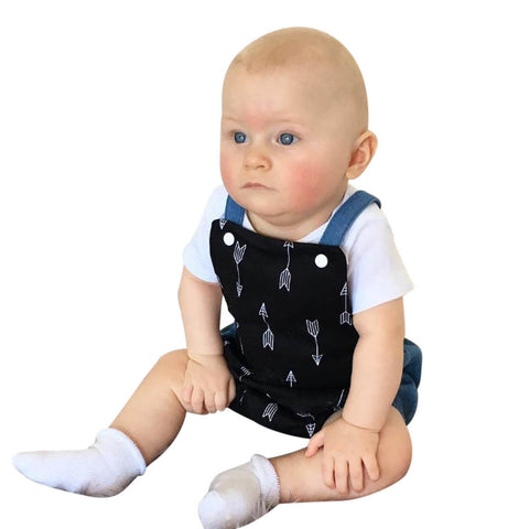 Newborn Kids Baby Boys Clothes Romper Anchor Printing Baby Rompers Jumpsuit sleeveless Infant Playsuit Sunsuit Children Outfits
