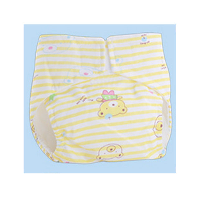 Clearance Baby Nappy changing Newborn baby waterproof breathable Ultra thin Napy Baby No Side Leakage Adjustable Cotton Diapers