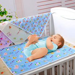 Cotton Waterproof Newborn Infant Bedding Nappy Changing Cover Pad Portable Cute Baby Nappy Cover Pad Diapers Changing Mattress