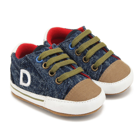 Baby Shoes Boy Girls Toddler Canvas Footwear Casual Sneakers First Walkers