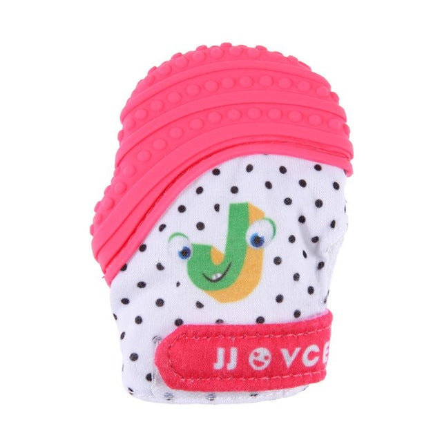 Silicone Baby Teethers Pacifier Newborn Chewable Nursing Gloves Baby Teeth Training Infant Dental Care Baby Teething Tools