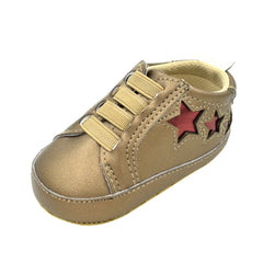 Newborn Baby Toddler Infants Girls Boys Shoe Star Soft Anti-slip Shoes