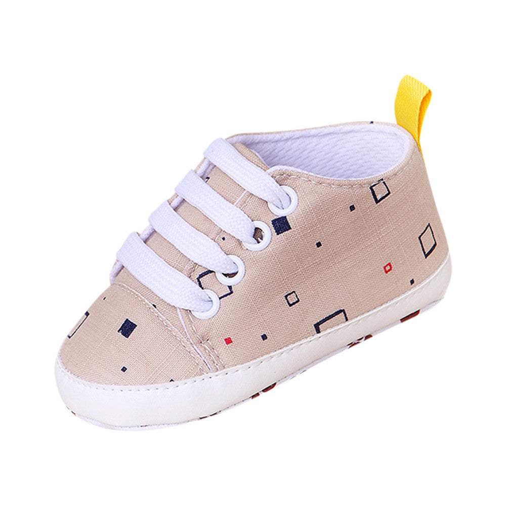 Newborn InfantBaby Cartoon Girls Boys Soft Prewalker Casual Flats Shoes
