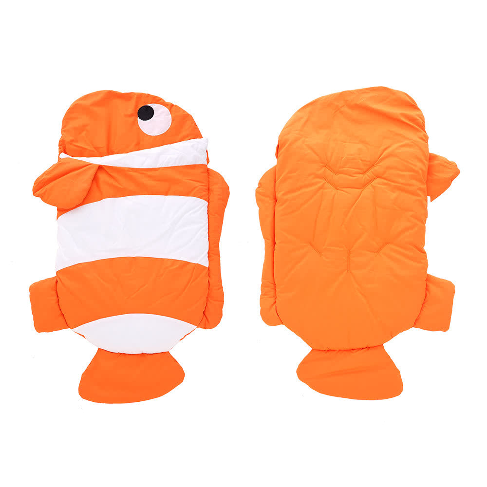 Baby Sleeping Bag Cotton Clowfish Swaddle Stroller Blanket Sleep Sack Nest Wrap Bedding Soft Anti-kicking Sleeping  For 3-36 Months Infant Baby Toddler