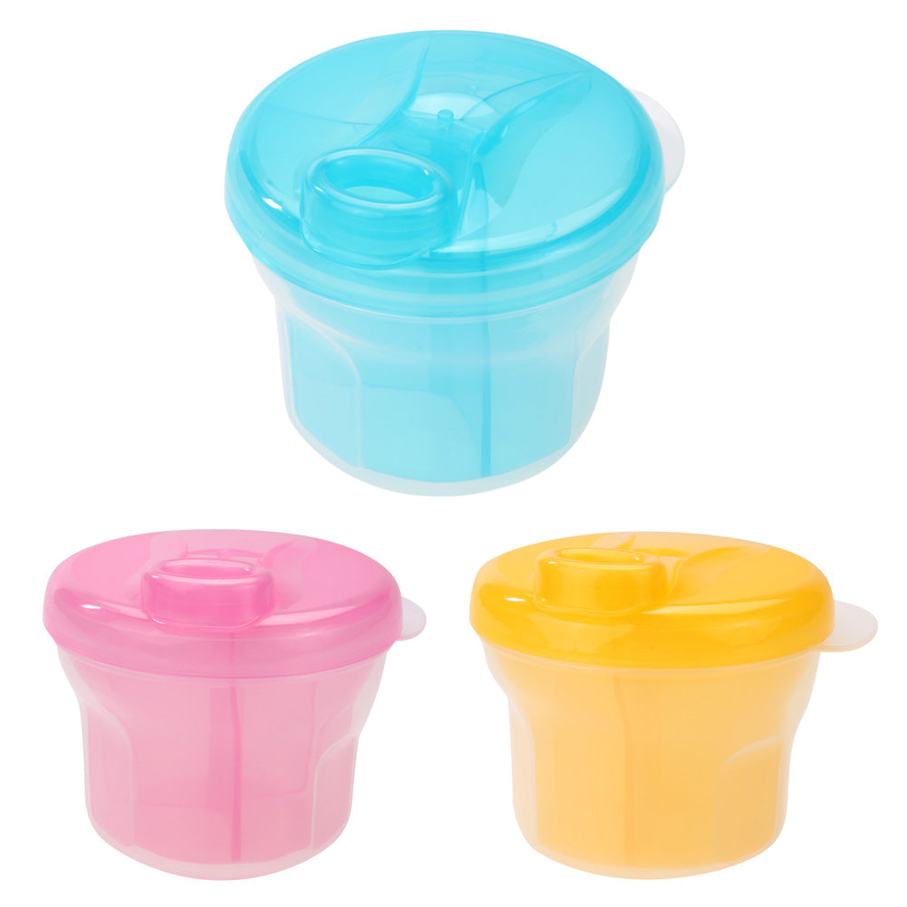Baby Milk Powder Dispenser Food Container PP Formula Storage Feeding Box for Baby Food Containers Feeder