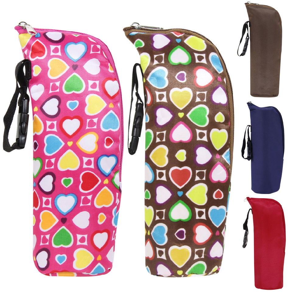 Bottle Insulation Storage Bag Water Bottle Milk Bag Warmers Stroller Hanging Thermal Feeding Baby Food  Container Bag