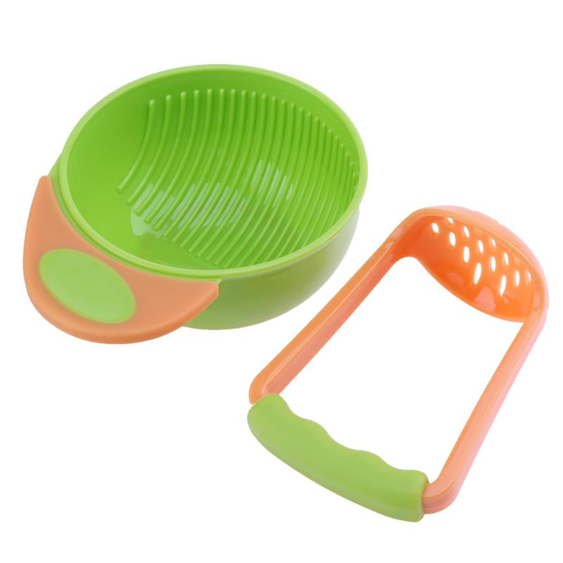Baby Feeding Bowl Set Baby Fruit Feeder Food Grinder Cook For Kids Children Nursing Bowl  Fruit Food Box