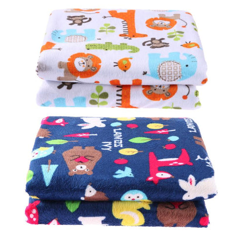Winter Baby Blanket Comfortable Newbrons Stroller Blankets Cute Baby Bedding Swaddle Wrap Quilt